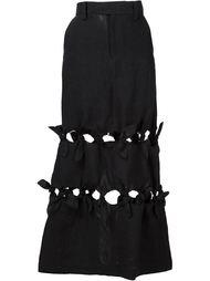 юбка с вырезами  Facetasm