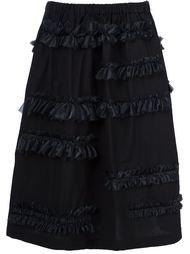 юбка с рюшами Comme Des Garçons Tricot