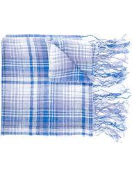 клетчатый шарф Comme Des Garçons Tricot