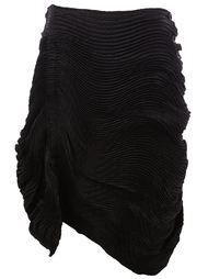 юбка с драпированными деталями  Issey Miyake