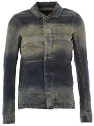 джинсовая куртка с линялым эффектом  Rick Owens DRKSHDW