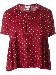 блузка в горошек  Comme Des Garçons Comme Des Garçons