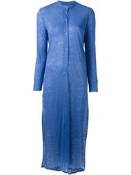 длинное трикотажное платье Majestic Filatures