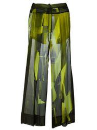 брюки 'Edison Radiant' Ann Demeulemeester