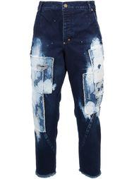 джинсы с заплатками Song For The Mute