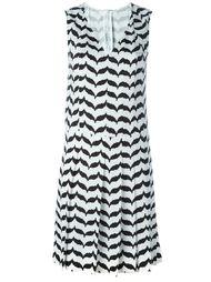 платье с V-образным вырезом Neil Barrett