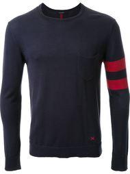 свитер с контрастными полосками   Guild Prime