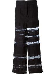 брюки с прозрачными полосками Damir Doma