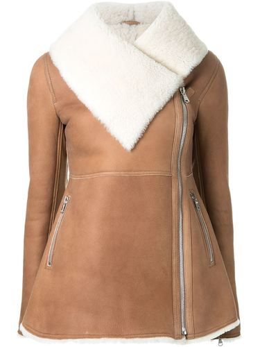 куртка из овчины с баской Scanlan Theodore