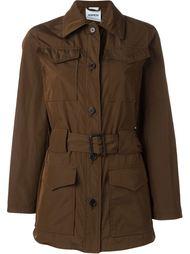 пальто с карманами с клапанами Aspesi