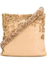 сумка на плечо с цветочной аппликацией  Etro