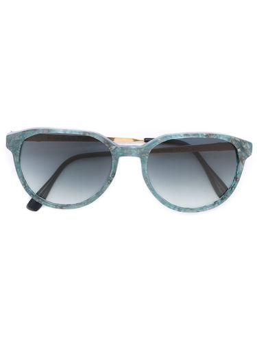 солнцезащитные очки с мраморным узором Yves Saint Laurent Vintage