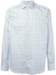 рубашка с мелким принтом пейсли Etro