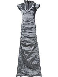 платье с мятым эффектом  Nicole Miller
