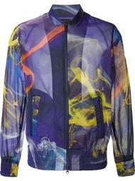 куртка-бомбер с абстрактным принтом Y-3