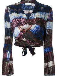 блузка с запахом  Scanlan Theodore
