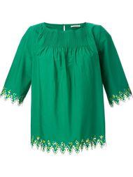блузка с вышивкой Etro