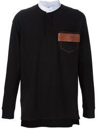 свитер с нагрудным карманом Givenchy