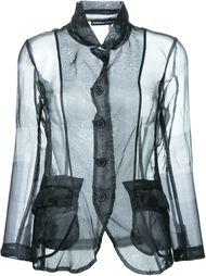 прозрачный пиджак Rundholz