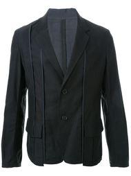 пиджак с контрастной строчкой Yohji Yamamoto