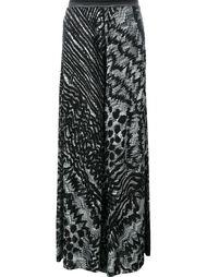 широкие брюки с абстрактным узором Missoni