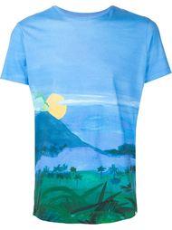 футболка с принтом Orlebar Brown