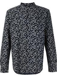 рубашка с цветочным принтом 3X1