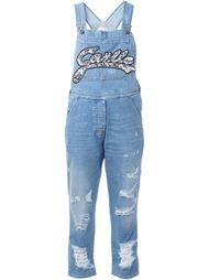 джинсовый комбинезон с потертой отделкой Gaelle Bonheur