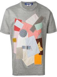 футболка лоскутного кроя Junya Watanabe Comme Des Garçons Man