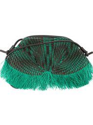фактурная сумка с бахромой Issey Miyake