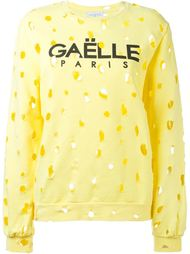перфорированная толстовка Gaelle Bonheur