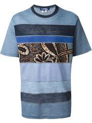 футболка с панельным дизайном Junya Watanabe Comme Des Garçons Man