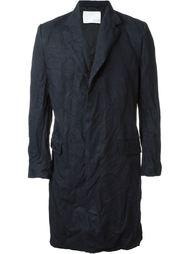 пальто с потайной застежкой  Matthew Miller