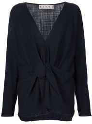 блузка с V-образным вырезом Marni