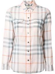 рубашка в клетку Burberry Brit