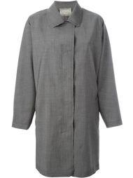 пальто с необработанными краями   Lanvin