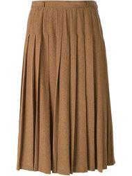 плиссированная юбка-миди Louis Feraud Vintage