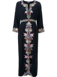 длинное платье с вышивкой Vilshenko
