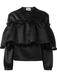 блузка с оборками  Christopher Shannon