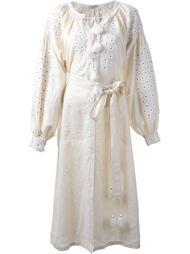платье с цветочной вышивкой  Vita Kin