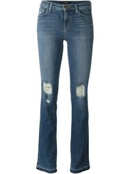 джинсы с потертой отделкой J Brand