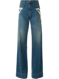 расклешенные брюки Sandrine Rose