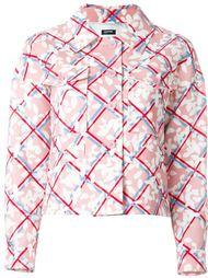 куртка с цветочным принтом   Jil Sander Navy