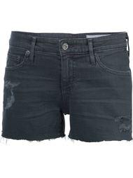 шорты с необработанными краями   Ag Jeans