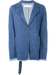 джинсовый жакет с необработанными краями  Marques'almeida