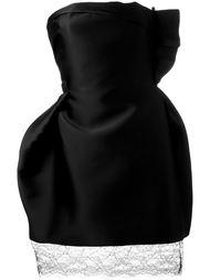платье с открытыми плечами  Lanvin