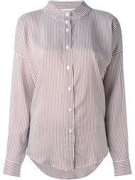 рубашка в полоску Lucio Vanotti