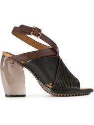 босоножки на массивном каблуке  GINGER & SMART