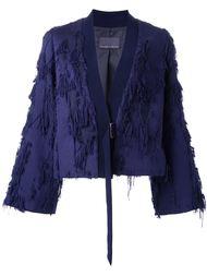 куртка с рваными деталями   GINGER & SMART
