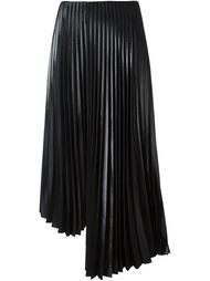плиссированная юбка с отливом Y's